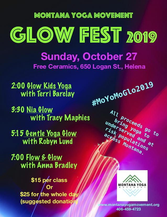 Montana Yoga Movement Glow Fest 2019